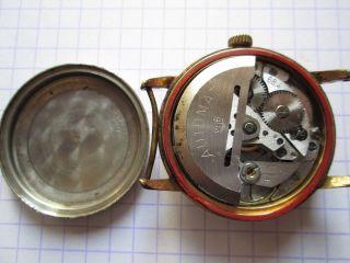 Gub GlashÜtte Automat Kaliber 68.  4 Mit Datum Herrenuhr Bild