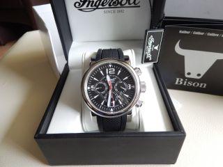 Ingersoll Bison N0.  44 (in4109bk) Automatik Herren Uhr - Wie Bild
