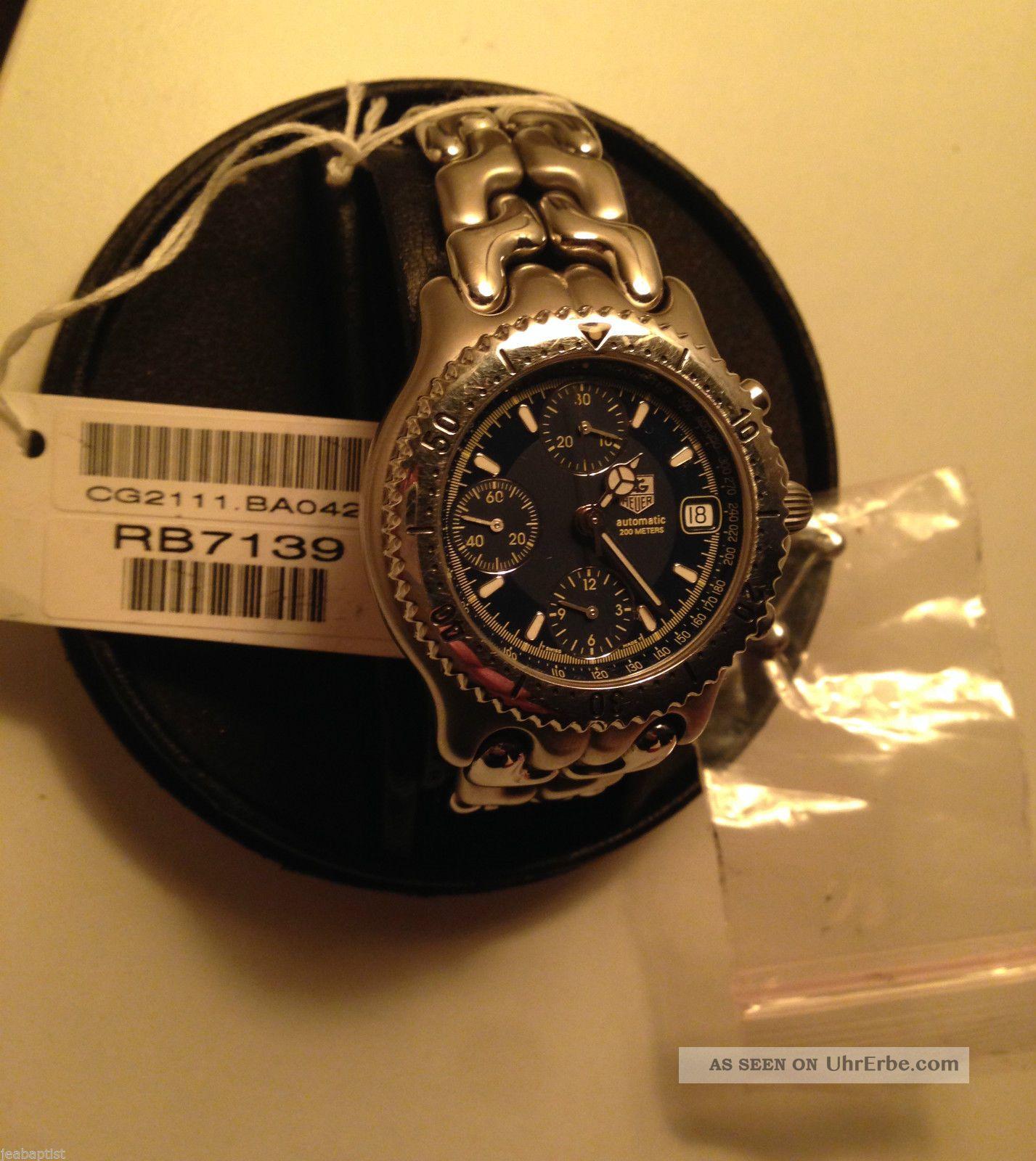Tag Heuer Cg 2111 - Ro Professional Automatic 200m Saphirglas 25 Jewel Movement Armbanduhren Bild