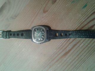 1 Sehr Alte Anker Herrenuhr Armbanduhr Uhr Sammler Mit Datum Automatic Bild