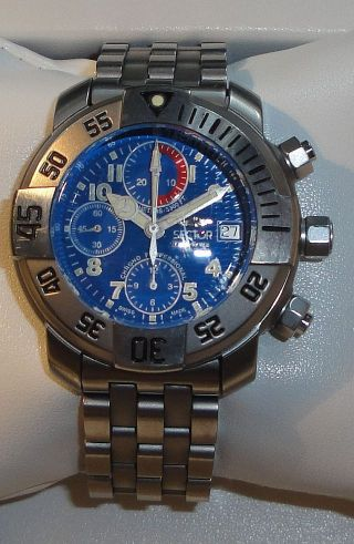 Taucheruhr Sector Diving Team Professional – Automatic Chronograph Valjoux 7750 Bild