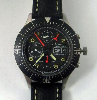 Sinn 156 Military Chronograph - Lemania 5100 Automatik Bild