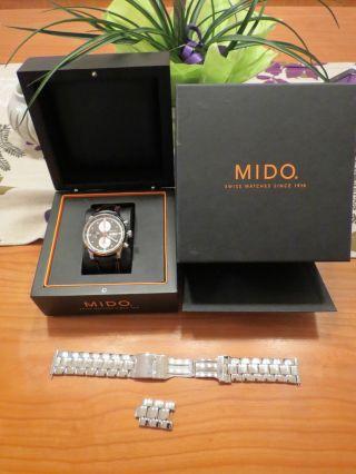 Mido Multifort Chronograph Bild