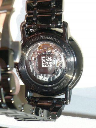 Rado Diamaster Automatik Keramik Uhr Herrenuhr R14073182 Xl Hyperchrome Ovp Bild