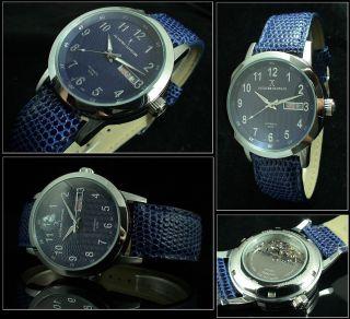 Guardian Designer Uhr Automatik - Myota - Uhrwerk Azurblau Uhr GehÄuse Edelstahl Bild