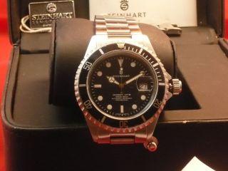 Armbanduhr Steinhart Ocean 1 Black Bild
