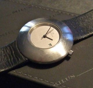 Milus - Mecanika - Design Paul Junod - Automatik - Swiss Made Bild
