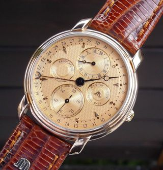 Maurice Lacroix Regulateur Automatic Masterpiece Ref.  19275 Herrenuhr - Top Bild