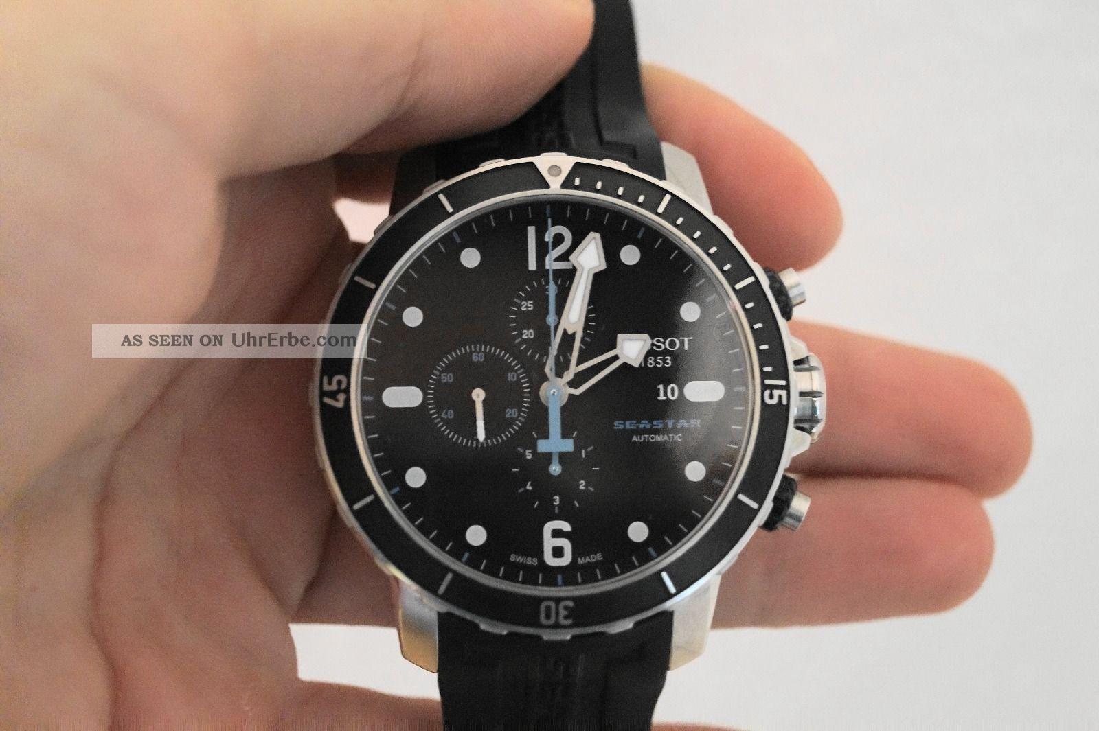 Tissot Seastar 1000 Automatic Chronograph Armbanduhren Bild