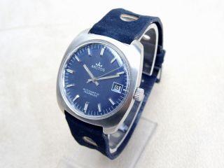 Antike Arctos Automatik Armbanduhr Datum Old Stock Ungetragen Bild