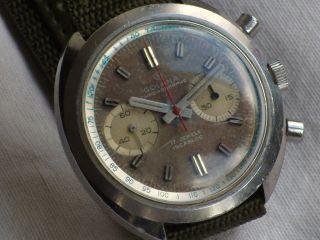 Vintage Golana Valjoux 7733 Chronograph Bild