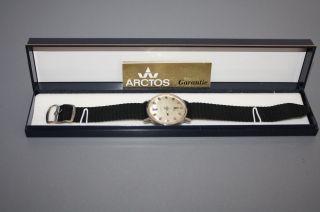 Hau Arctos Automatic Mechanisch Herrenarmbanduhr Jubiläumsuhr Datum Aus Nachlaß Bild