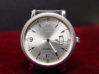 Trias Uhr Ref.  01064 Automatik Stainless Steel Bild