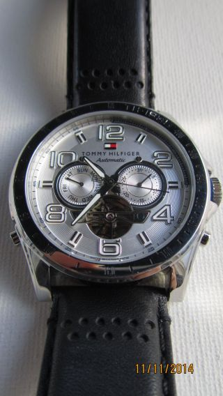 Tommy Hilfiger Th 98.  1 14.  0859 Automatic Herrenuhr Bild