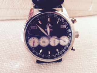 Bmw Uhr Edelstahl Automatik Herren Uhr X3 X5 X6 M3 M5 M6,  Neuwertig Bild