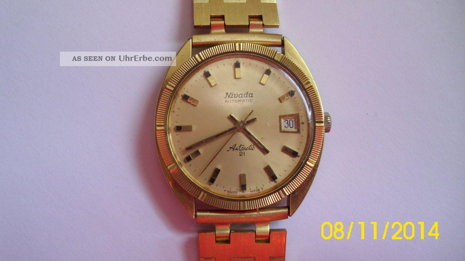 Nivada Armbanduhr Armbanduhren Bild