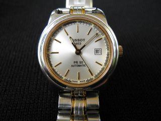 Tissot Pr50 Automatik Armbanduhr Für Damen (analog) Bild