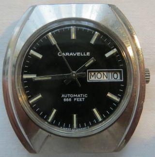 Caravelle Automatic,  Datumanzeige,  Ca.  70er J.  (?) - Ist Sauber,  Schön,  Läuft Bild