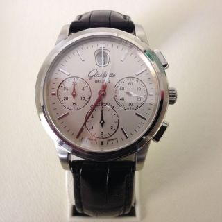 Glashütte Orginal Senator Chronograph Edelstahl Bild