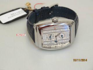 Neue Dubey & Schaldenbrand Coupe City Uhr In Stahl 37mm Bild
