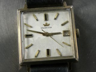 Seltene Marvin Swiss Made Automatic Bild