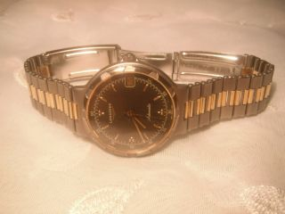 Longines Herren Automatik Uhr Typ Conquest Las Vegas Titan/gold Ansehen Bild