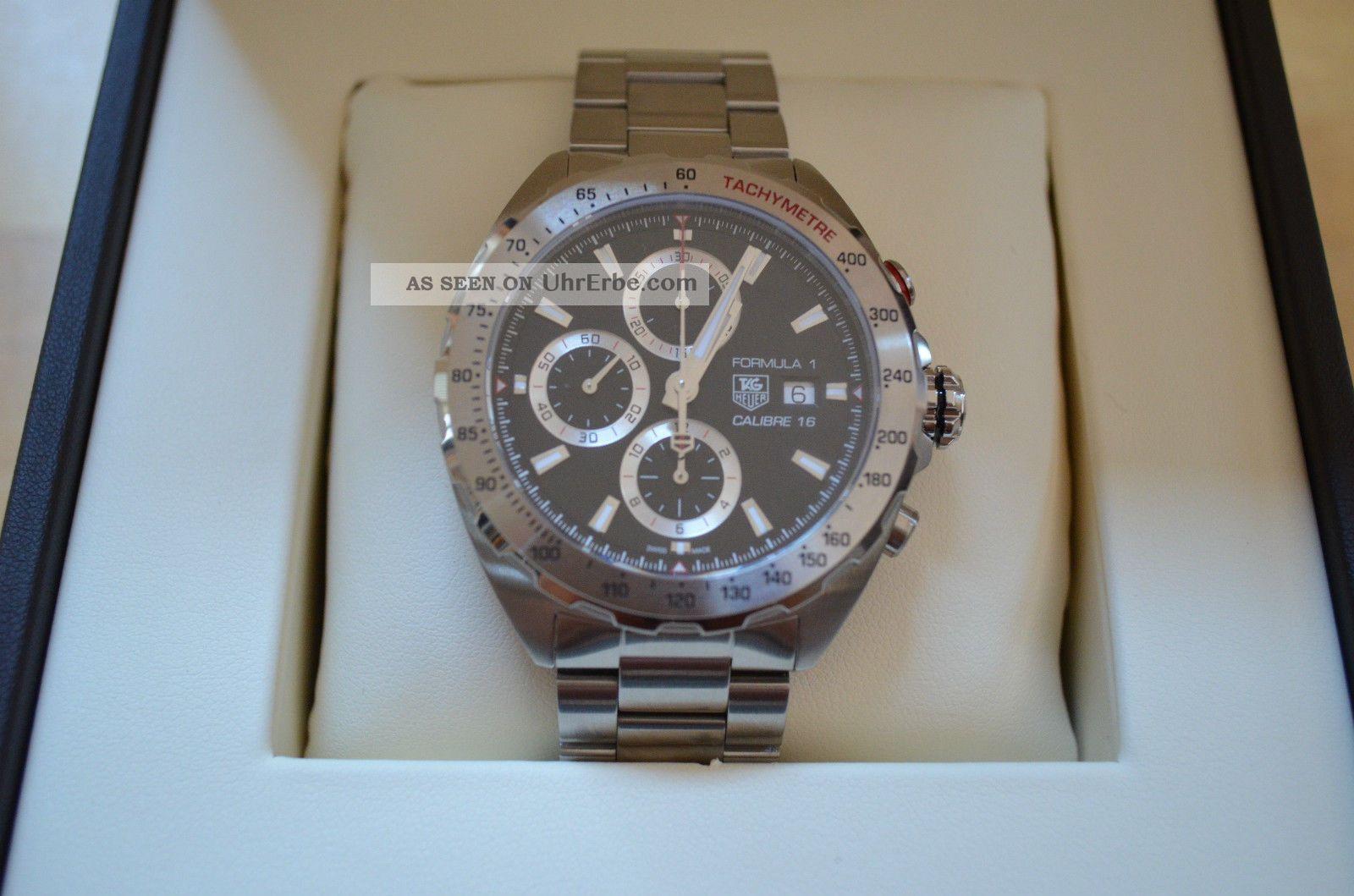 Tag Heuer Formula 1 Chronograph Cal 16 - - Ungetragen Armbanduhren Bild