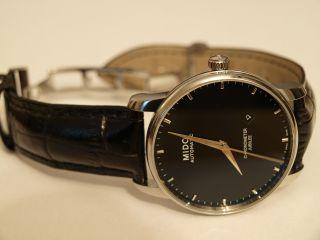 Mido Baroncelli Jubilee Chronometer Automatic Edelstahl Schwarz M86904184 Bild
