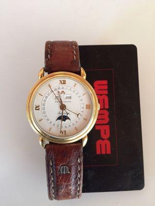 Armbanduhr M.  Lacroix Mondphase M.  Vollkalender,  Automatic,  Glasboden Bild