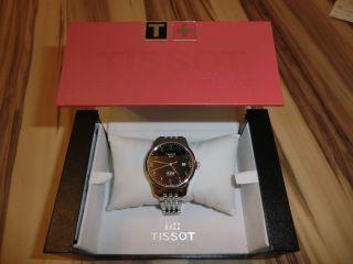 Tissot Le Locle Automatic 40mm Schweiz Armbanduhr Herren Uhr 2014 Bild