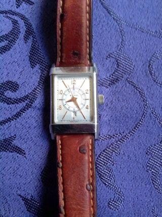 Eterna Matic Les Historiques 1935 Unisex Uhr In Edelstahl Automatik Bild