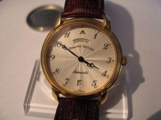 Maurice Lacroix Pontos Automatic Armbanduhr Tag Und Datumsanzeige Bild