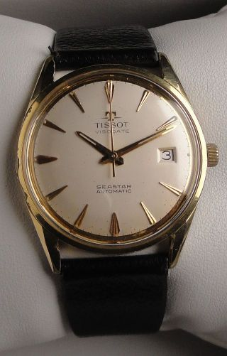 Vintage Armbanduhr Automatic Tissot Visodate Seastar – Cal.  Tissot 784 Bild