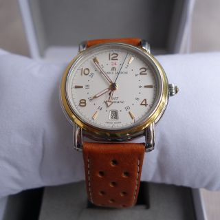 Maurice Lacroix Gmt Automatik Herren Armbanduhr Bild