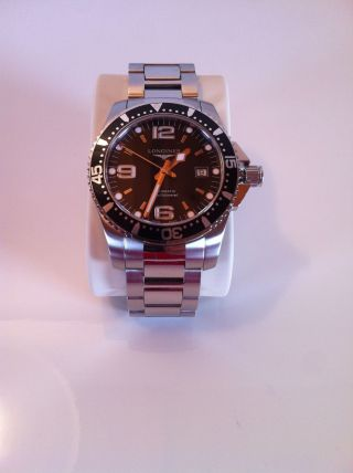 Longines Hydroconquest Gents Large Automatic Ref.  L3.  642.  4.  56.  6 Bild