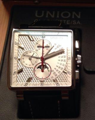 Union GlashÜtte Averin Armbanduhr Wie SchÖn Papier Ovp Bild