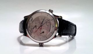 Jlc Jaeger Lecoultre Master Geographic,  Stahl,  Top Lp: 7950,  - Sk: 4200,  - Bild