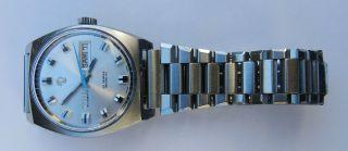 Tressa Automatik Armbanduhr 70er Style - Mit Day / Date Bild