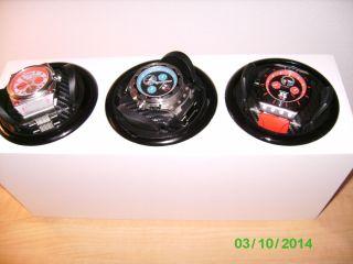 3 Delorean Automatic Armbanduhren Incl.  Uhrenbeweger Bild