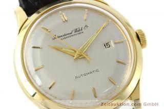 Iwc Schaffhausen 18k (0,  750) Gelb Gold Portofino Automatik Vintage Vp: 10700,  - E Bild