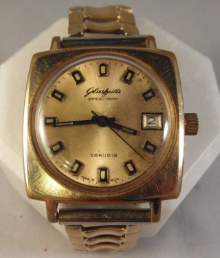 glashütte 750 gold automatic uhren