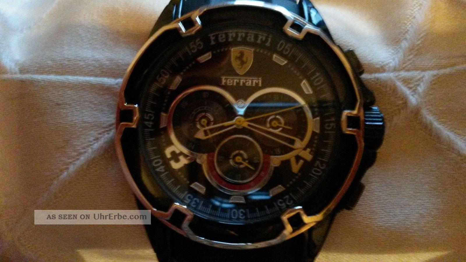Ferrari Herrenuhr Automatik Armbanduhren Bild