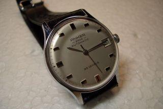 Anker 2000 Automatic Nos Alte Herren Armbanduhr Kal.  Förster 222. Bild