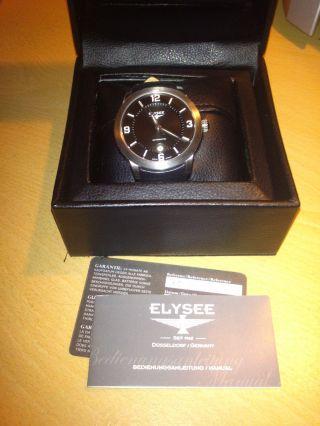Elysee Mythos Vi Automatik Armbanduhr - Neuwertig - Eta - - Restgarantie - 70935 Bild