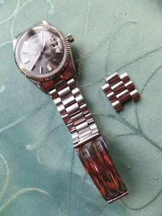 Ricoh Medallion 21 Juwels Automat.  Japan168 - 204 Schockresist Herrenuhr Armbanduhr Bild