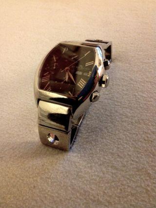 Rare Van Der Bauwede Magnum Churchill Cal.  35,  800 Vdb Black Dial,  Very Heavy Bild