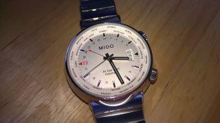 Mido All Dial Gmt Date Bild
