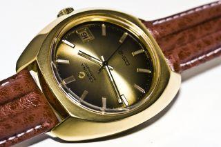 Certina Ds 2 Automatic Cal.  25 - 651,  Vintage,  Datum,  20mic Vergoldet Ca.  1968 Bild