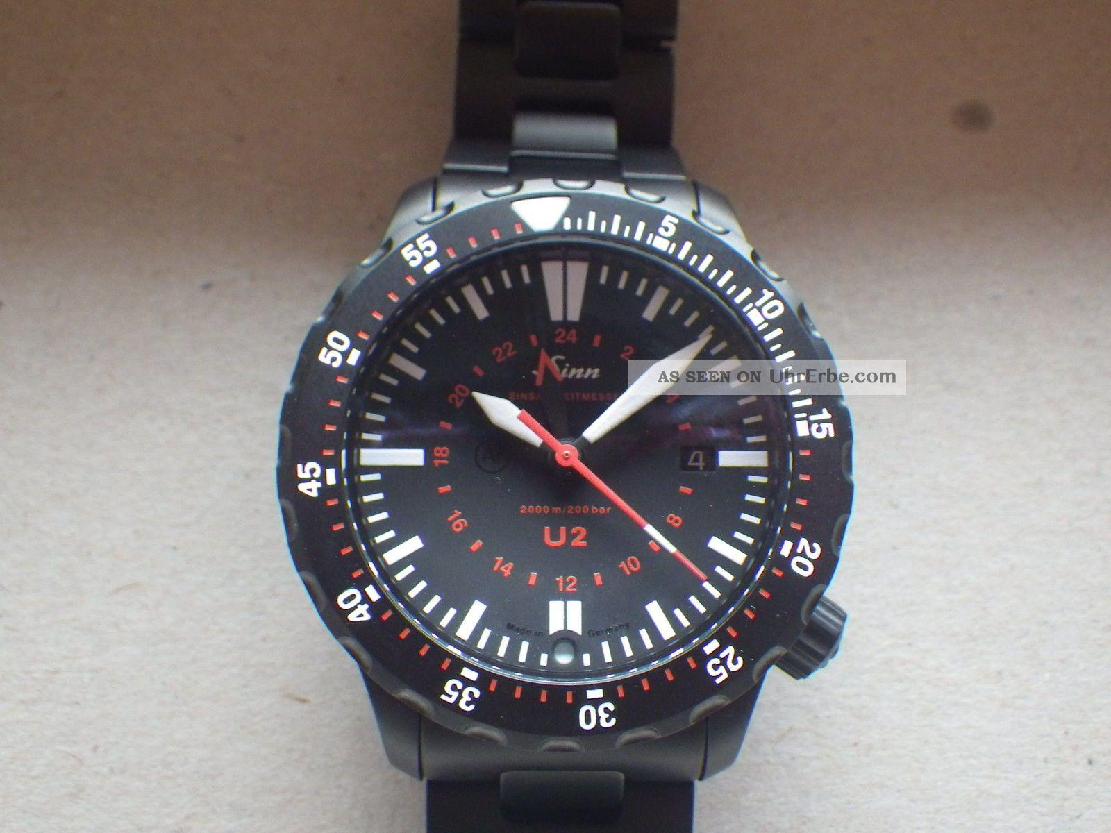 Sinn U2 S Aus U - Bootstahl Ungetragen Top Armbanduhren Bild