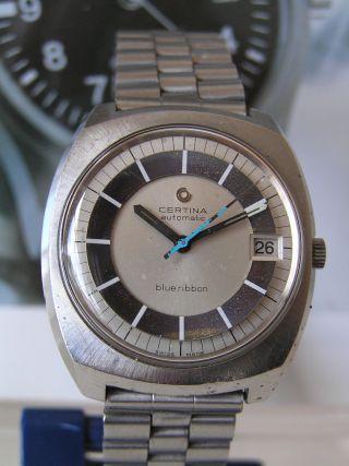 Klassische Certina Blue Ribbon Automatik Herrenuhr Mit Cal.  25 - 651 - Sammler Bild